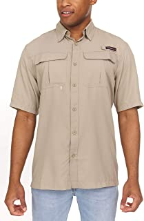 Swiss Alps Short Sleeve Lightweight Breathable Outdoor Fishing Shirt