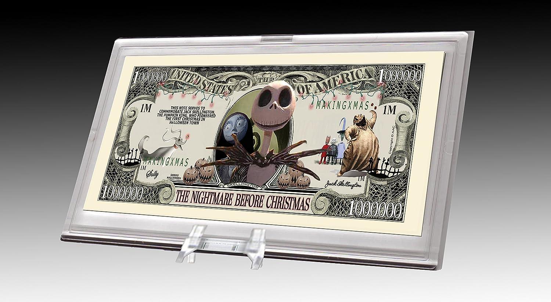 Nightmare Before Christmas Novelty Bill Desktop Dollar Virginia Beach Mall Direct sale of manufacturer Collectib