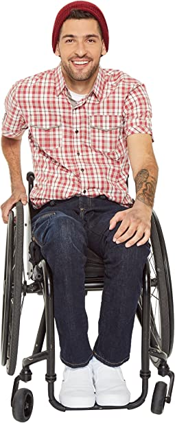 Wheel Chair Jean in Bright Rinse