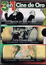 3 EN 1 CINE DE ORO [1.-AMOR EN LAS NUBES & 2.-LOS GUARURAS & 3.-EL GANADOR]. [NTSC/Region 1 and 4/ dvd. Import - Latin America].
