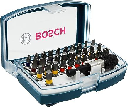 Bosch 2607017359-000, Kit Promoline de Pontas, Azul, 32 Peças