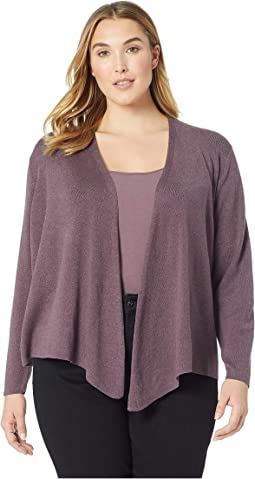 Plus Size Four-Way Cardy Heavyweight