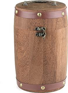 Mrs. Brog Wooden Barrel Cigar and Pipe Tobacco Humidor