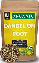 Organic Dandelion Root   Loose Tea (200+ Cups)   16oz Resealable Kraft Bag (1lb)   100% Raw From Bulgaria   by Feel Good Organics