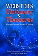 Webster's Dictionary & Thesaurus