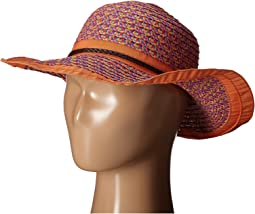 Paperbraid Sunbrim Hat with Ribbon Edge (Little Kids/Big Kids)
