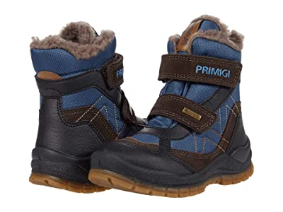 Primigi Kids 63996 (Toddler/Little Kid/Big Kid) (Brown/Blue) Boy