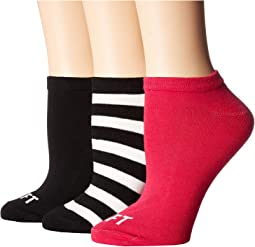 Right Left 3-Pack No Show Socks