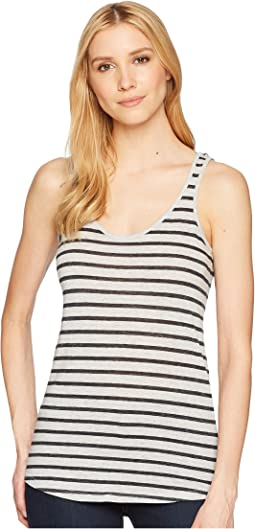 Castaway Eco-Jersey Stripe Tank Top
