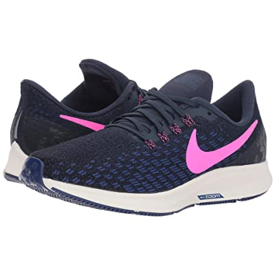 Nike Air Zoom Pegasus 35 (Obsidian/Pink Blast/Deep Royal Blue) Women
