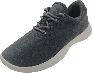 Time and Tru Women Poly Wool Knit Sport Casual Sneaker Grey