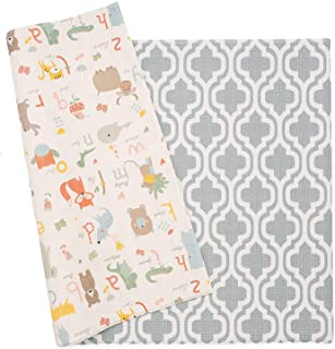 Baby Care Play Mat - Haute Collection (Medium, Moroccan - Blue)