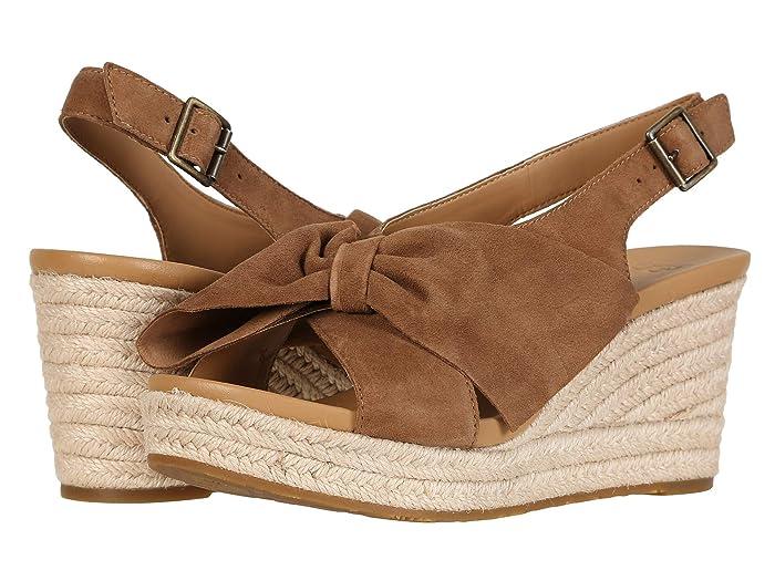 70s Shoes, Platforms, Boots, Heels UGG Camilla Chestnut Womens Sandals $75.92 AT vintagedancer.com