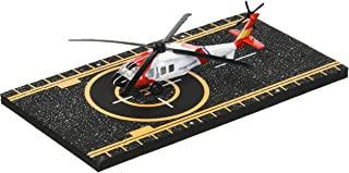 Hot Wings Coast Guard Helicopter with Connectible Runway