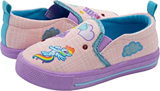 My Little Pony Pink Slip On Sneakers for Girls; Fun Character Girls Sneakers