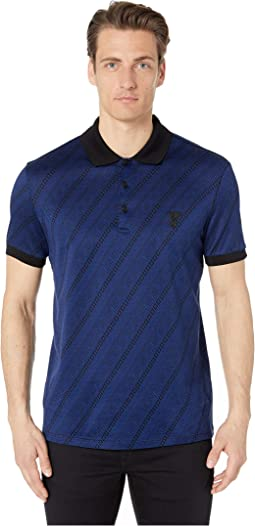 173be68d Versace collection polo shirt, Clothing + FREE SHIPPING | Zappos.com