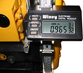 Wixey WR510 Electronic Digital Readout Kit for Portable Planers