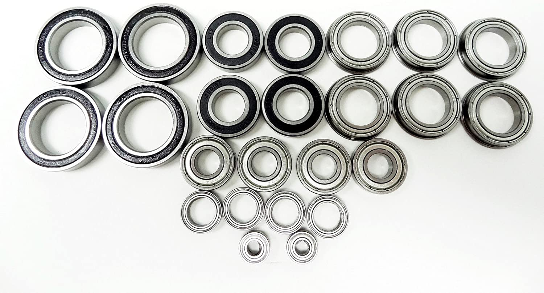 Rovan LT-SLT Complete 24-pc Ball Bearing LOSI Fits T 5IVE Kit Mi New mail order New life