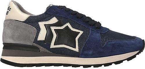 Atlantic Stars ARGOMANYNPDN - Hauszapatos de Tela para Hombre, Color azul