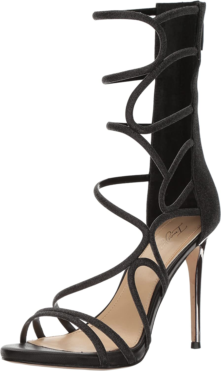 Imagine Vince Camuto Womens Daisi Heeled Sandal