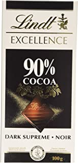 Lindt Excellence Dark Chocolate, 100 g