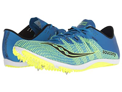 Saucony Endorphin 2 (Blue/Citron) Men