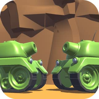 Tanks 3D for 2 players on 1 device - split screen - Play with your friend on the same device! You do not need internet connection.