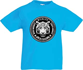 lepni.me Kids T-Shirt Wildlife - Never Hibernate, Always Dominate