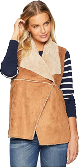 Light Vintage Washed Sherpa Madison Vest