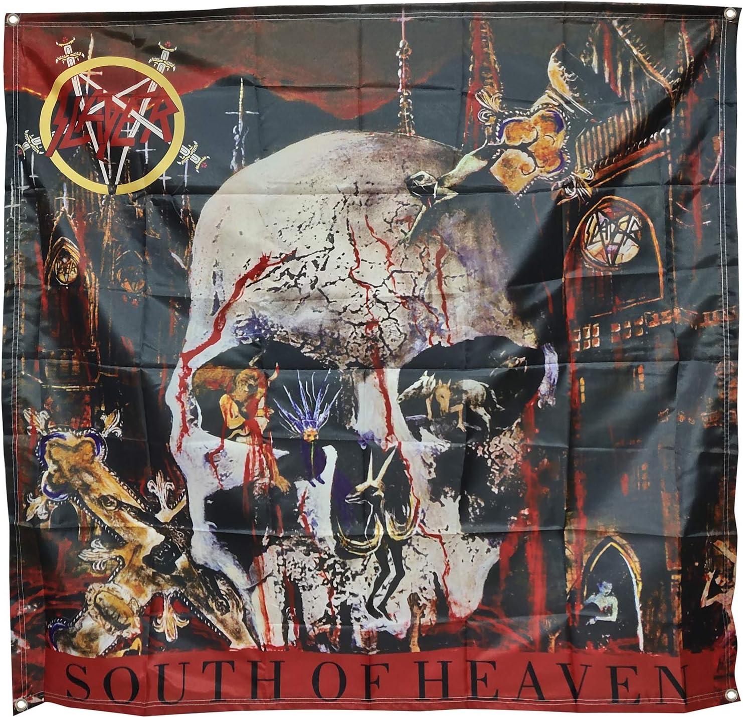 Zorlac Skateboard Banner PusHead Shrunken Head Flag Tapestry Fabric Poster 4x4ft