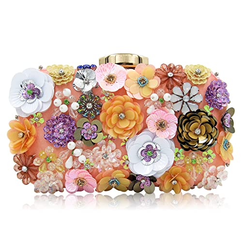 bef9551f8 Multicoloured Clutch Bag: Amazon.co.uk