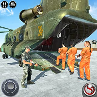 US Army Prisoner Transport: OffRoad Driving Games
