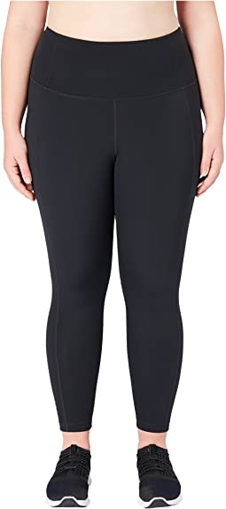 Flashflex Plus Size High-Waisted Run 7/8 Crop Leggings