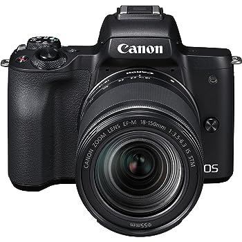 Canon EOS M50 + 18-150 mm MILC 24,1 MP CMOS 6000 x 4000 Pixeles Negro - Cámara Digital (24,1 MP, 6000 x 4000 Pixeles, CMOS, 4K Ultra HD, Pantalla táctil, Negro)