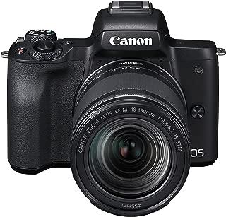 Canon EOS M50 Fotoğraf Makinesi + EF-M 18-150mm Lens
