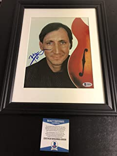 Autographed Pete Townshend 8x10 photo Framed Beckett certified signed