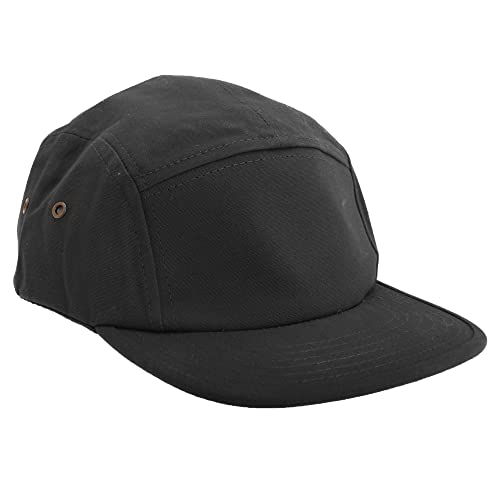 0b795996bb6 Black Five Panel Hat  Amazon.com