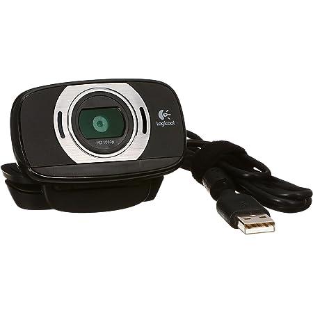 ロジクール ウェブカメラ C615 ブラック フルHD 1080P ウェブカム ストリーミング 折り畳み式 360度回転 国内正規品 2年間メーカー保証