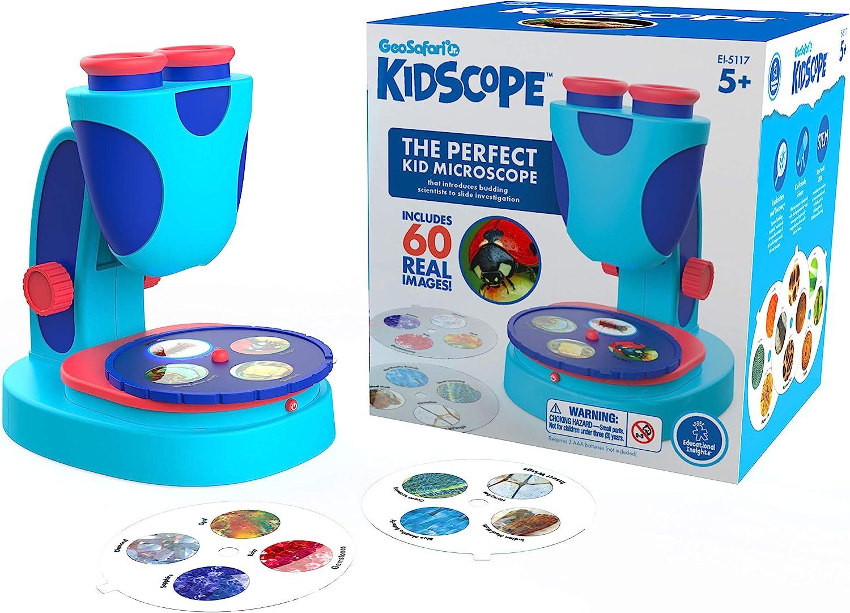 GeoSafari Jr Kidscope - The Box, Microscope and Slides