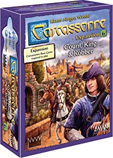 Carcassonne Expansion 6 Count, King and Robber Tile Game