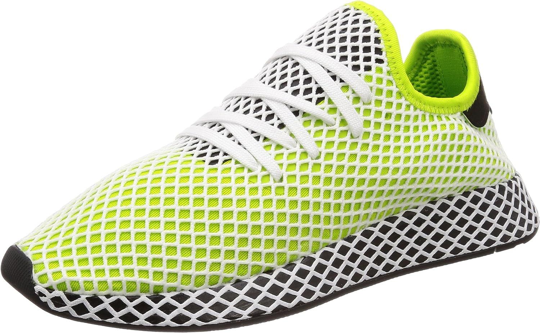 Adidas Deerupt Runner Semi Solar Solar Slime schwarz schwarz 44  Spielraum