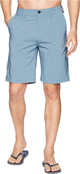 "Quiksilver Union Stripe 21"" Amphibian Shorts"