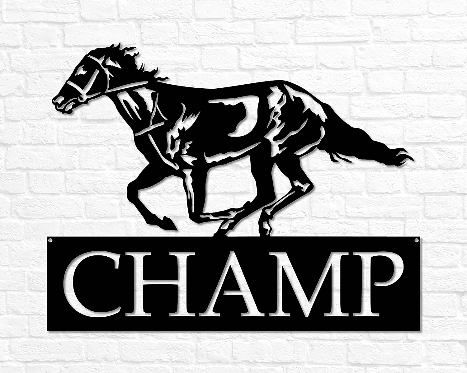Metal Horse 2021 new Sign Name Personalized Sales for sale Custom Gift