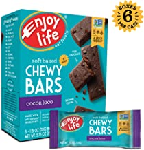 Enjoy Life Chewy Bars, Cocoa Loco, 5.75 Ounce (Pack of 6)