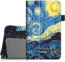 Fintie Folio Case for Samsung Galaxy Tab A 7.0 - Premium Vegan Leather Slim Fit Folio Stand Cover for Samsung Galaxy Tab A 7.0 Tablet 2016 Release (SM-T280/SM-T285), Starry Night