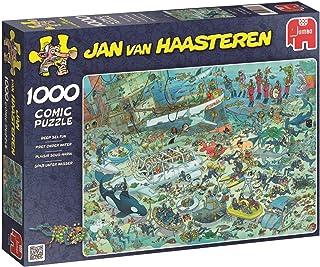 Jumbo Jan Van Haasteren Deep Sea Fun Jigsaw Puzzle (1000 Piece)
