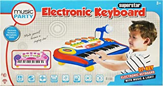 37 Key Electronic Keyboard Piano CRPL 640 Blue