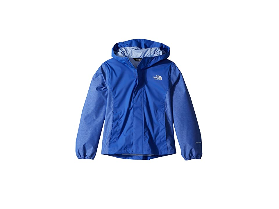 The North Face Kids Resolve Reflective Jacket (Little Kids/Big Kids) (Dazzling Blue) Girl