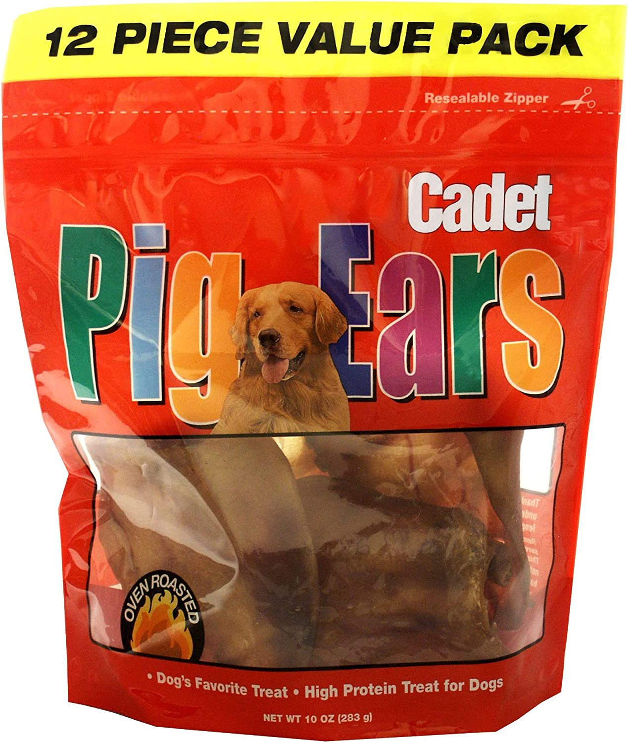 IMS Trading 00867 12Pack Pig Ears Dog Treat