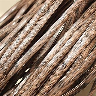 LANG ZI 8 mm Osier en Rotin en Plastique, Matériel de Réparation en Osier pour Meubles de Bricolage, Réparation de Tricot,...